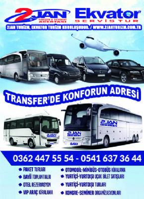 Samsun Transfer - Ekvator Tourism